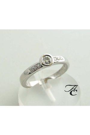 Atelier Christian Ring met diamanten 0.22 ct.