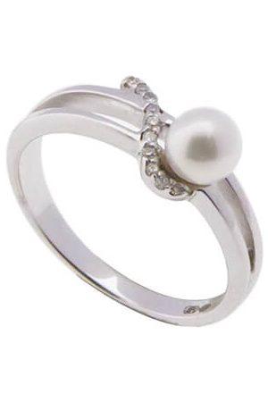 Christian Diamanten en parel ring