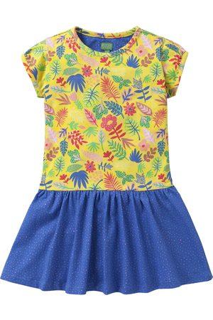 Oilily Jersey jurkje met duo print in vrolijke kleuren