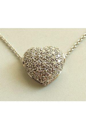 Christian Collier en harten hanger met diamanten