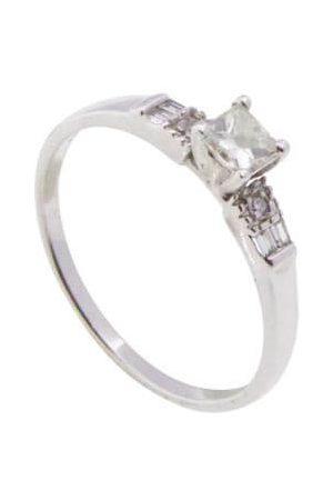Christian 14 karaat ring met citrien diamanten