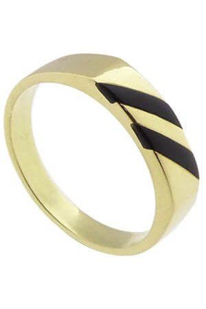 Atelier Christian 14 karaat ring met onyx