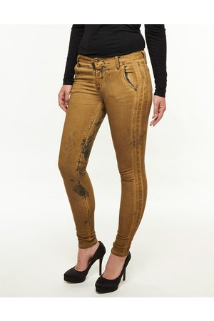 Please Jeans handcrafted vintage chique gold