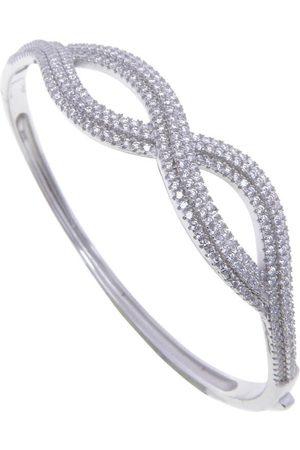 Christian Zilveren zirkonia infinity armband
