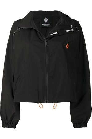 MARCELO BURLON Logo-embroidered windbreaker
