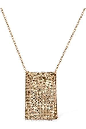 Paco rabanne Large Chainmail Pouch Necklace