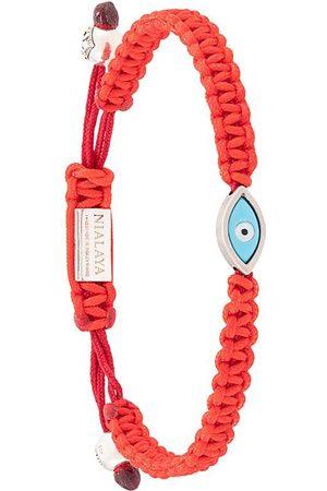 Nialaya Jewelry Heren Armbanden - Evil eye bracelet