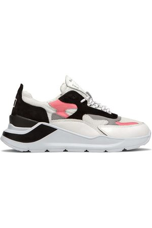 D.A.T.E. Date W321-Fg-Nk-Wp Fuga Netki Sneakers Women White pink