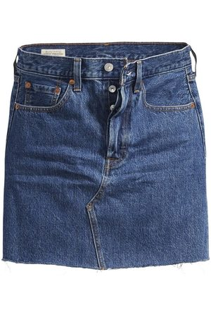 Levi's High-Rise Deconstructed Skirt