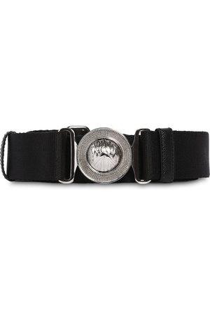 Prada 35mm Grosgrain & Leather Belt