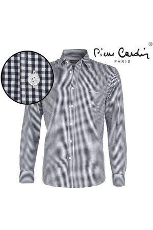 Pierre Cardin Heren Overhemden - Heren overhemd stretch gingham