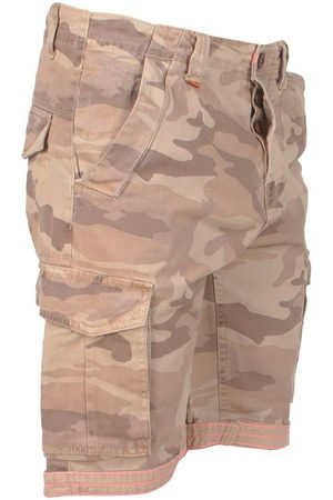 MZ72 Heren bermuda fresh camouflage beige army