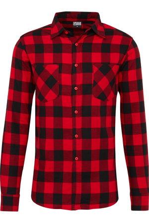 Urban classics Heren Overhemden - Overhemd 'Checked Flanell