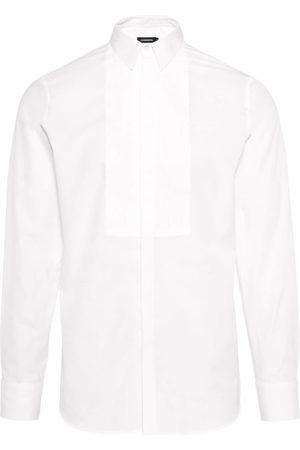 J Lindeberg Heren Overhemden - Zakelijk overhemd 'Daniel Tux Poplin Plissee