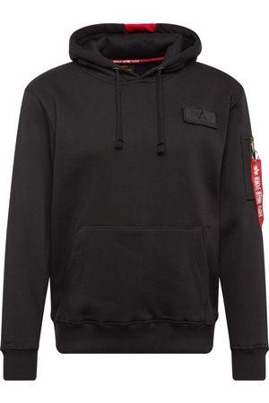 Alpha Industries Heren Sweaters - Sweatshirt 'Red Stripe