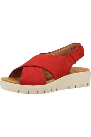 Clarks Dames Sleehakken - Sandalen met riem