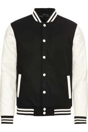 Urban classics Heren Korte jassen - Tussenjas 'Oldschool College Jacket