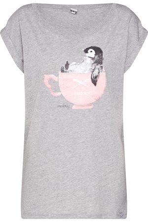 Iriedaily Dames T-shirts - Shirt 'Pingulax Tee