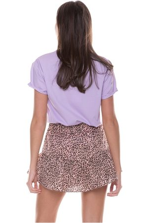 Colourful Rebel Soof Leopard Skort Woman
