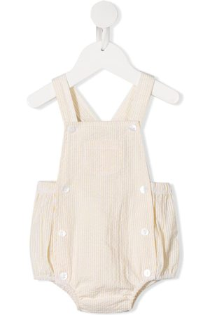 Siola Striped dungaree shortie
