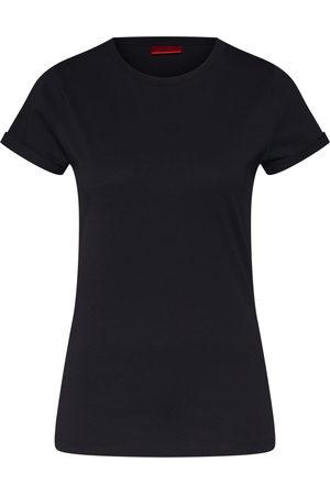 HUGO BOSS Dames T-shirts - Shirt 'The plain