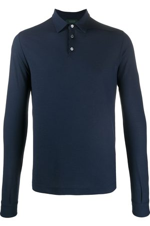 ZANONE Long sleeve polo shirt