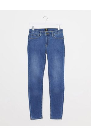 Lee Lee Scarlett skinny jeans in mid tiverton blue