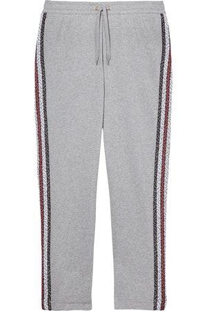 Burberry Monogram stripe track pants