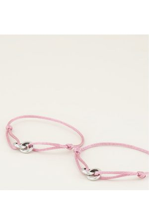 My Jewellery Dames Armbanden - Armbanden Forever Connected Armband Roze