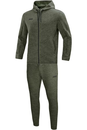 Jako Joggingpak met kap premium basics m9729-28 khaki