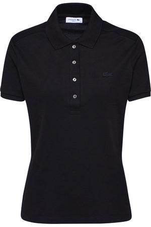 Lacoste Shirt 'CHEMISE COL BORD-COTES MA