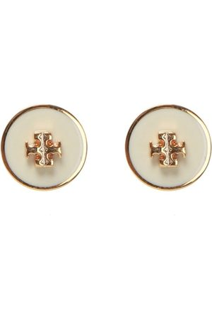 Tory Burch Kira earrings with logo