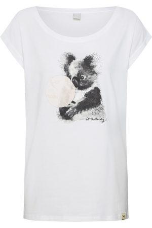 Iriedaily Dames T-shirts - Shirt 'Koala Bubble Tee