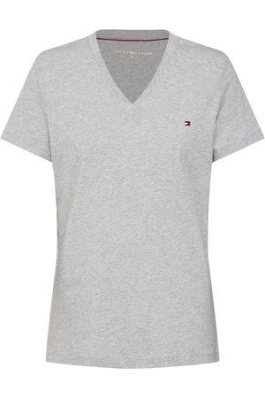 Tommy Hilfiger Dames T-shirts - Shirt 'HERITAGE V-NECK TEE