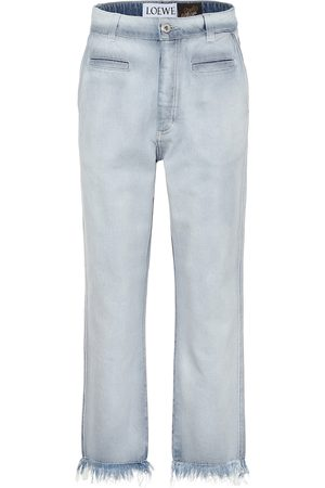 Loewe Dames Bootcut - Paula's Ibiza low-rise frayed jeans