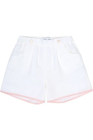 Loro Piana Kelsie embellished cotton-blend shorts
