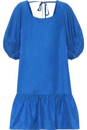 Lee Mathews Exclusive to Mytheresa – Daisy cotton and silk minidress