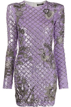 Balmain Sequinned mini dress