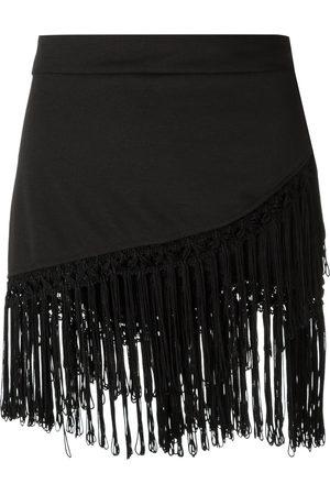 AMIR SLAMA Fringed skirt