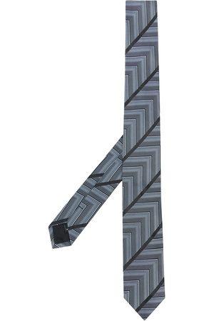 Gianfranco Ferré 1990s geometric print neck tie