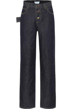 Bottega Veneta Dames Straight - High-rise straight jeans