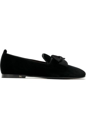 Dolce & Gabbana Bow detail loafers