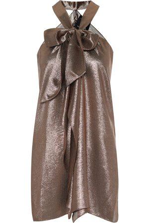Roland Mouret Dames Tops - Exclusive to Mytheresa – Pontal metallic silk-blend top