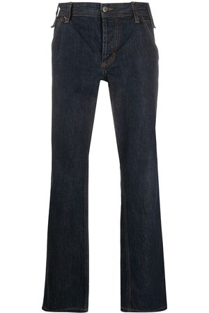 Dolce & Gabbana Pre-Owned 2000s stitch detail straight-fit jeans