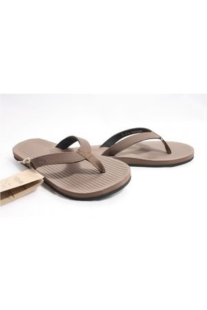 Indosole Heren Teenslippers - Essential flip flop slippers taupe