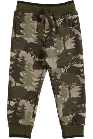 Dolce & Gabbana Printed Cotton Sweatpants