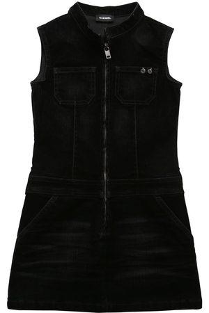 Diesel Velvet Effect Denim Dress