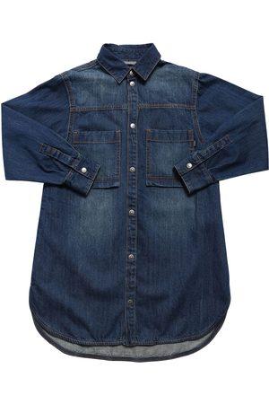 Diesel Stretch Cotton Shirt Dress