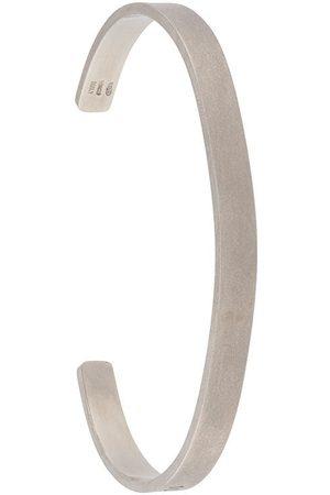 Maison Margiela Engraved cuff bracelet