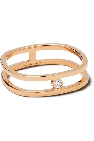 Vanrycke 18kt rose gold Charlie diamond ring